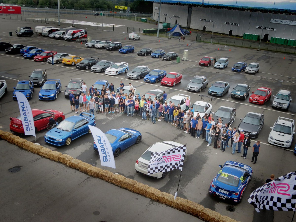 Kramar Motorsport выступил на юбилее Sti-Club