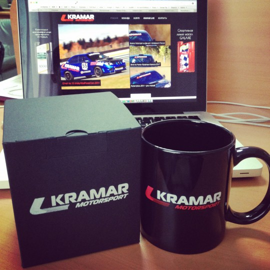 Фирменная кружка Kramar Motorsport