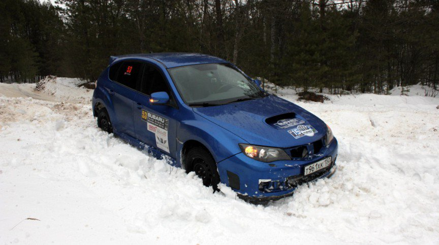 SUBARU TEAM RUSSIA Winter Cup 2015. 2 ЭТАП
