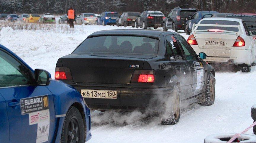 SUBARU TEAM RUSSIA Winter Cup 2015. 1 ЭТАП