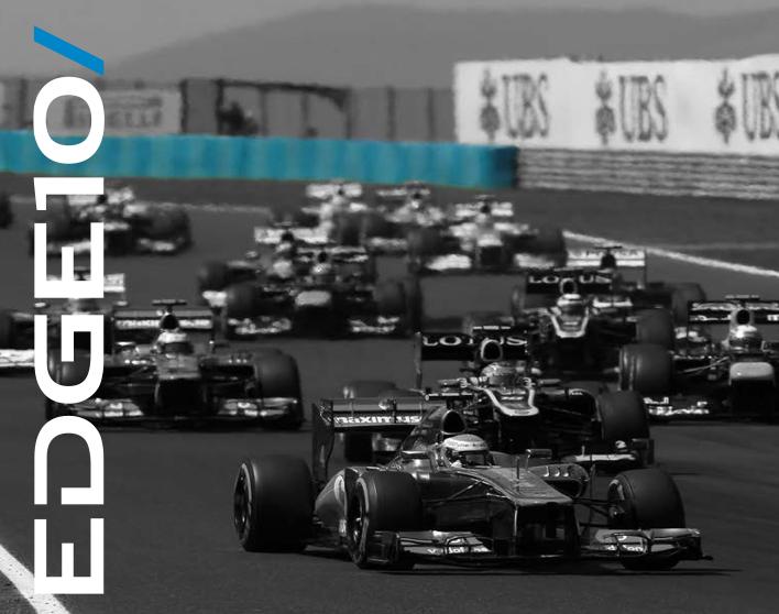 EDGE10 - эксклюзивный спонсор команды Kramar Motorsport