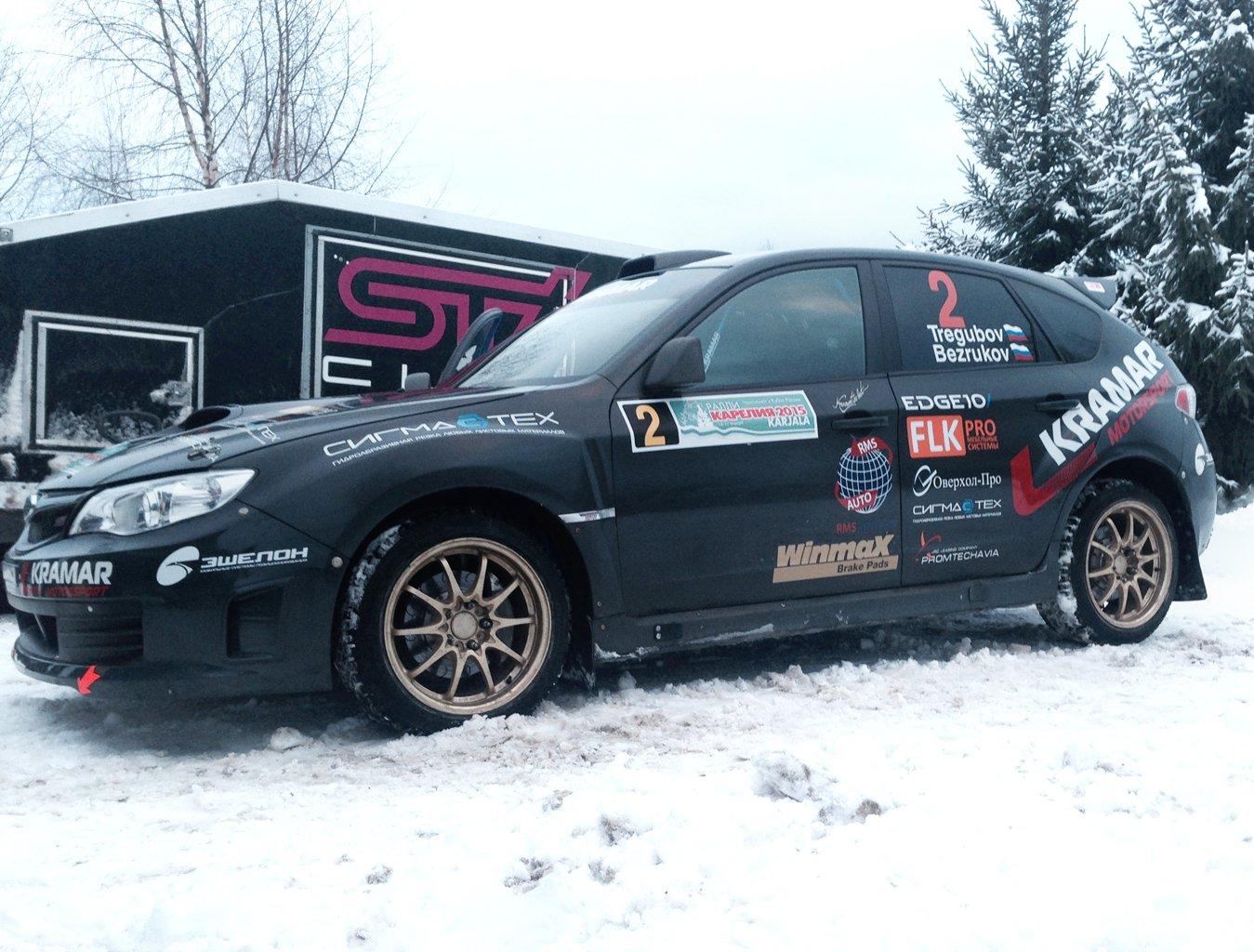 Kramar Motorsport на I этапе Чемпионата России в Карелии