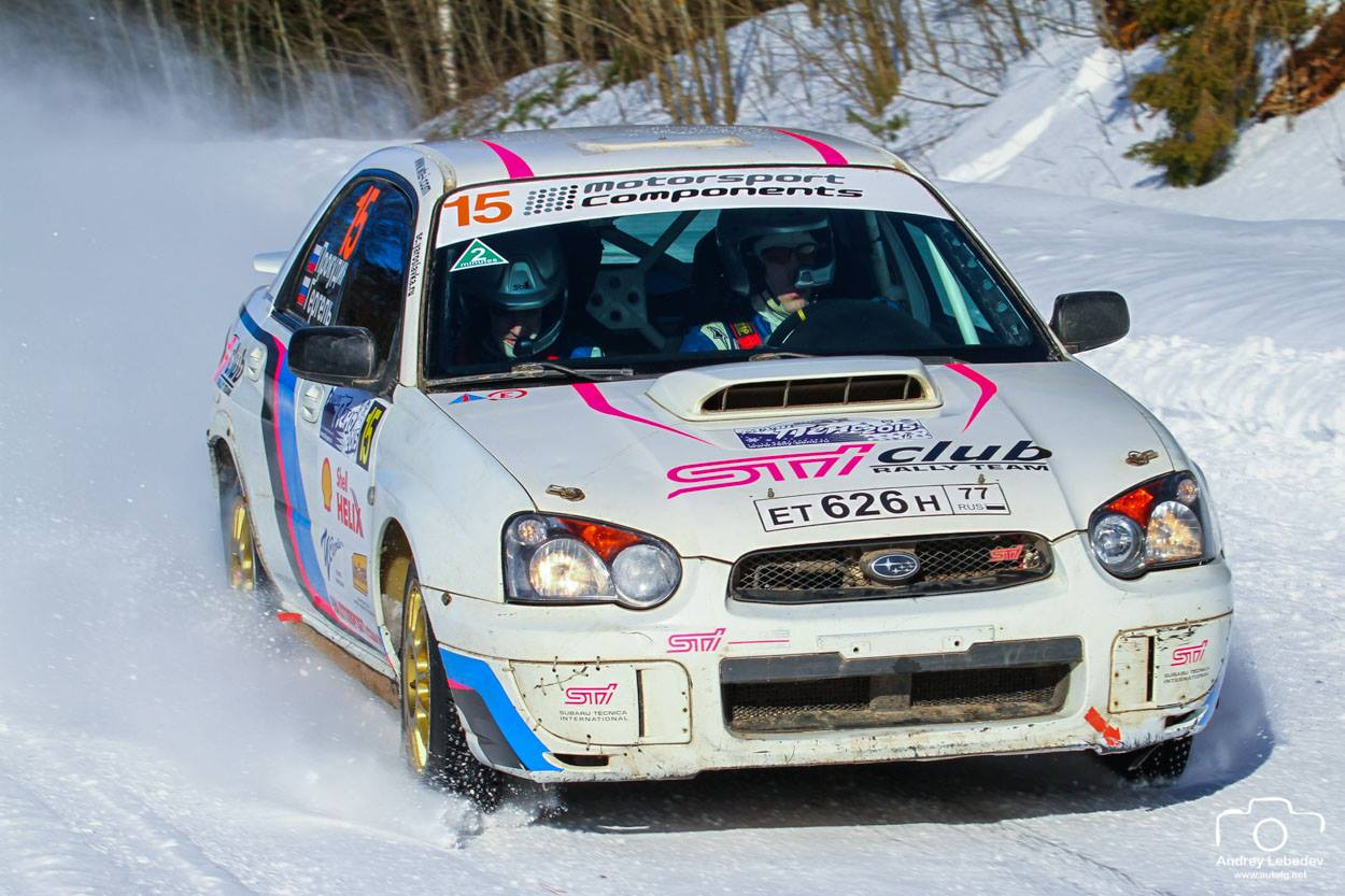 SUBARU TEAM RUSSIA Winter Cup 2015