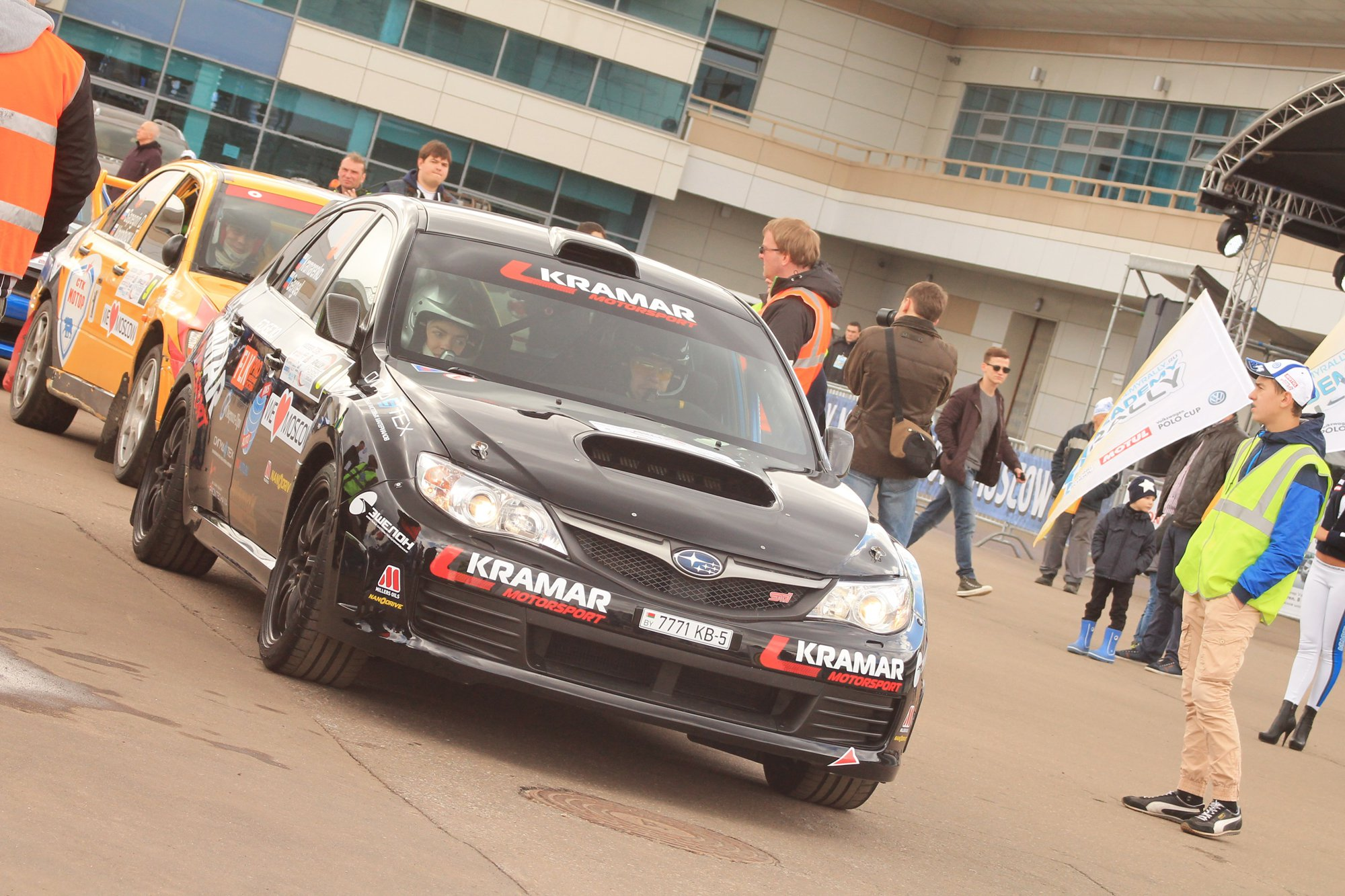 Rally Masters Show 2015 Никита Гергель и Александр Крамаренко
