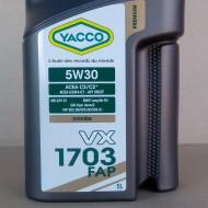 YACCO VX 1703 FAP 5W-30 Масло моторное (5L)