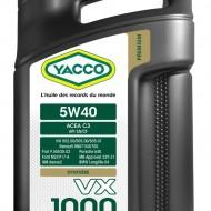 YACCO VX 1000 FAP 5W-40 Масло моторное (5L)