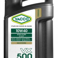 YACCO VX 500 10W-40 Масло моторное (5L)