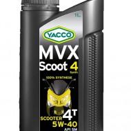 YACCO MVX SCOOT 4 SYNTH 5W-40 Масло для 4-тактных скутеров (1L)