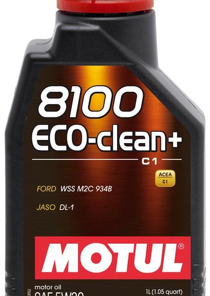 MOTUL 8100 Eco-clean + 5W-30 (1L) 1