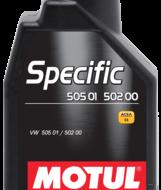 MOTUL SPECIFIC 505 01 / 502 00 5W-40 (5L)