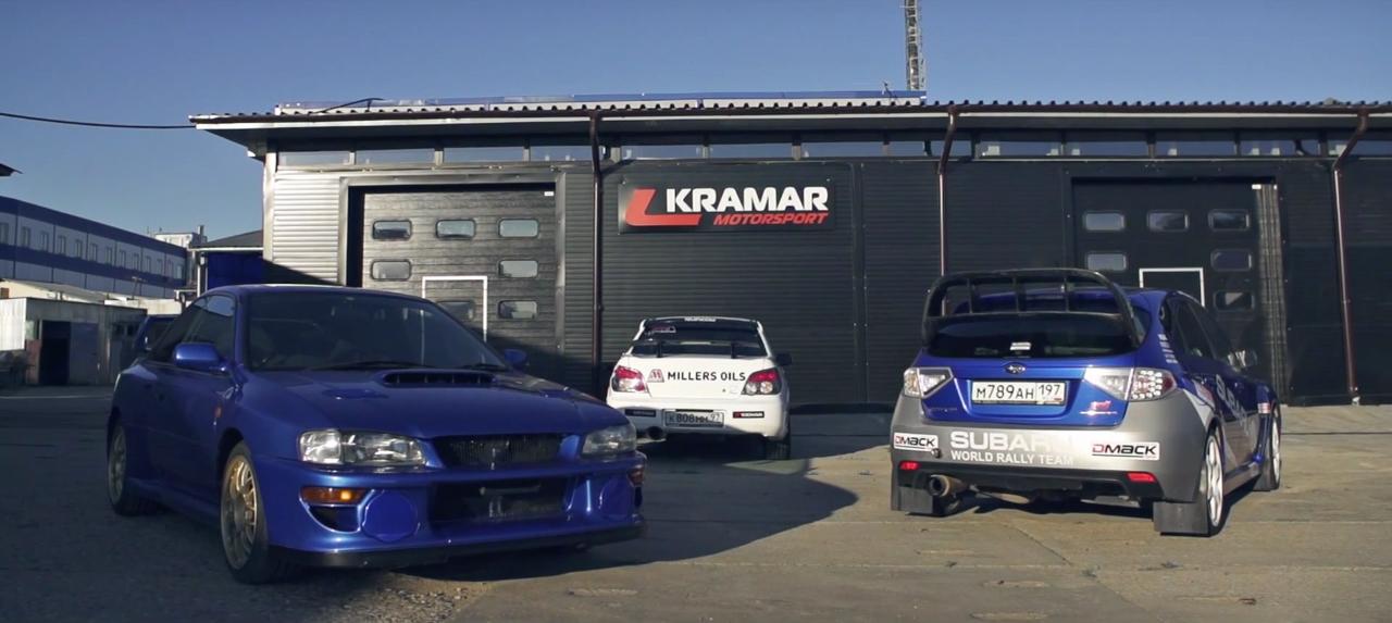 Автосервис спортивная команды Kramar Motorsport (видео)