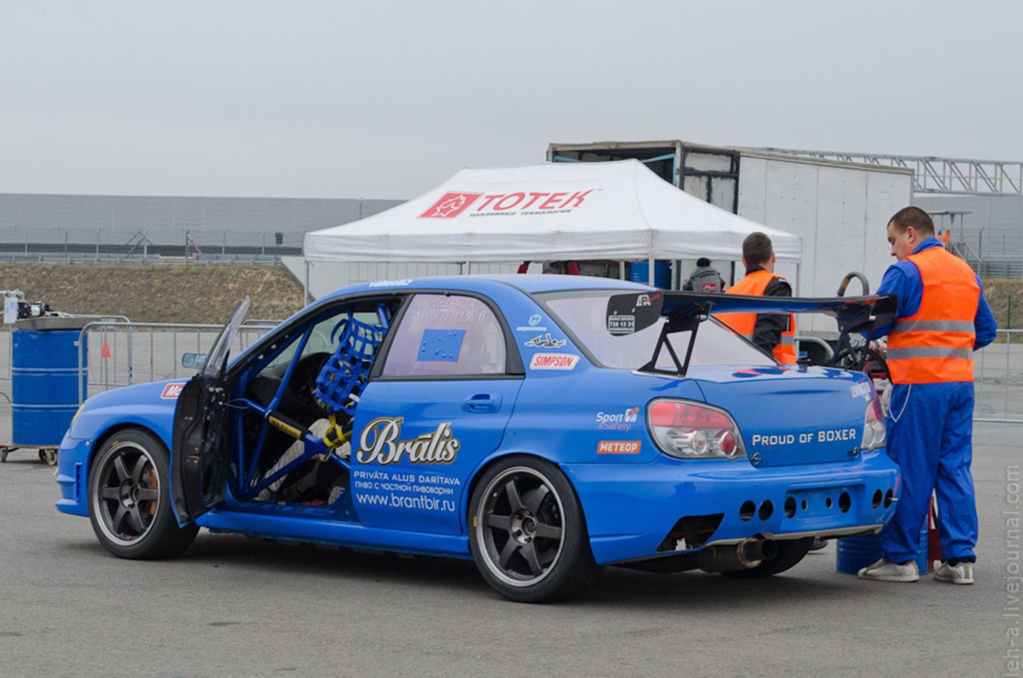 Russian Endurance Challenge Subaru Impreza WRX STi