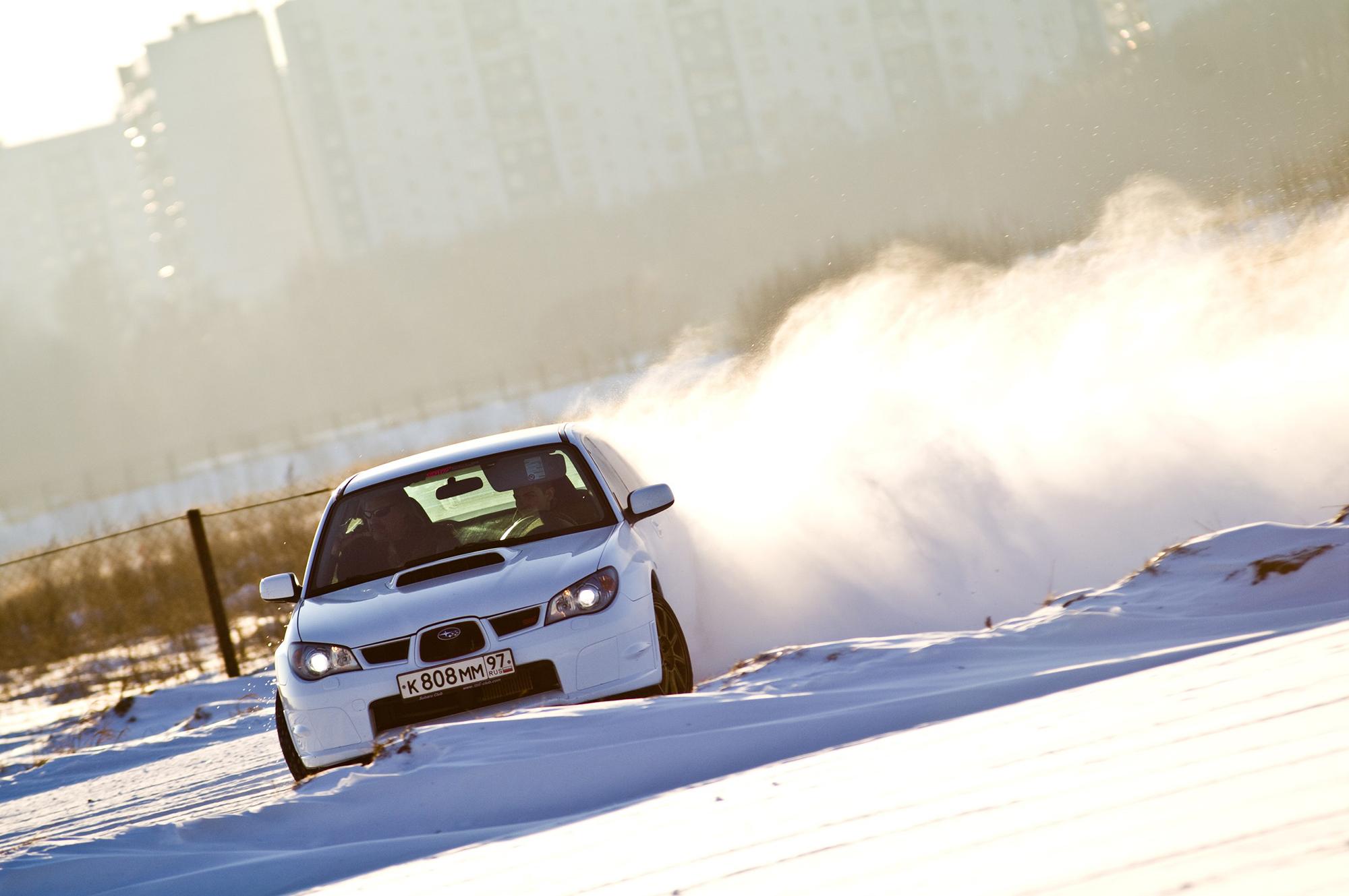 Никита Гергель Subaru Impreza