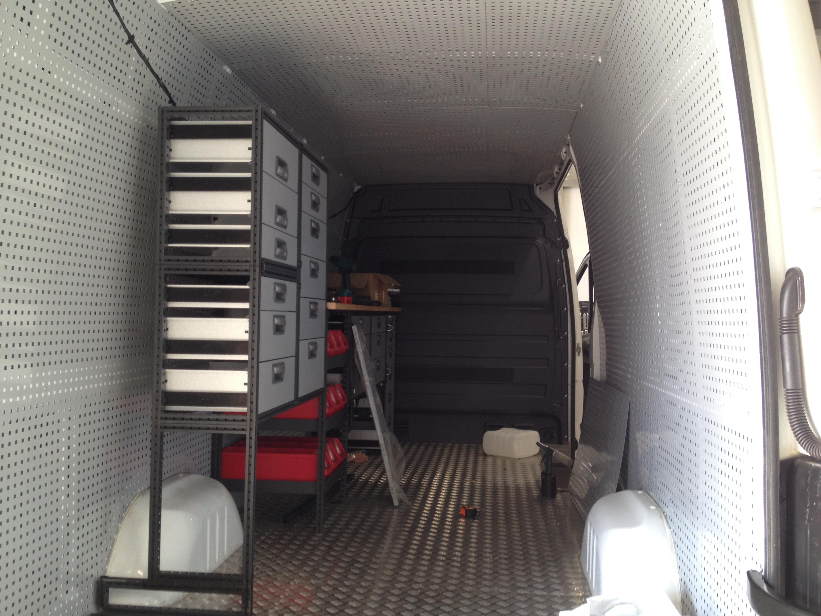 постройка технички в сервисе kramar motorsport