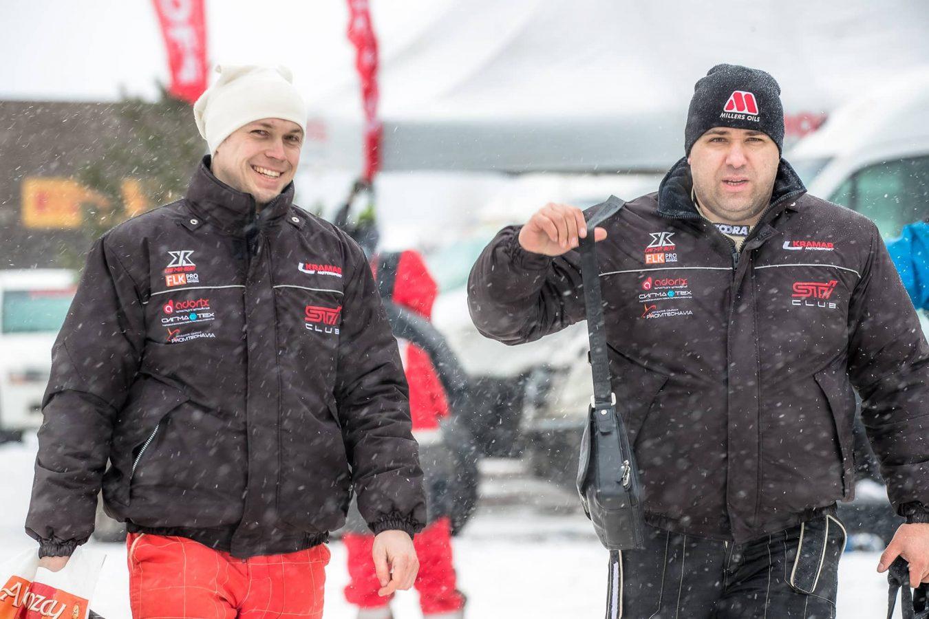 Kramar Motorsport Rusanov Rally Peno 2017