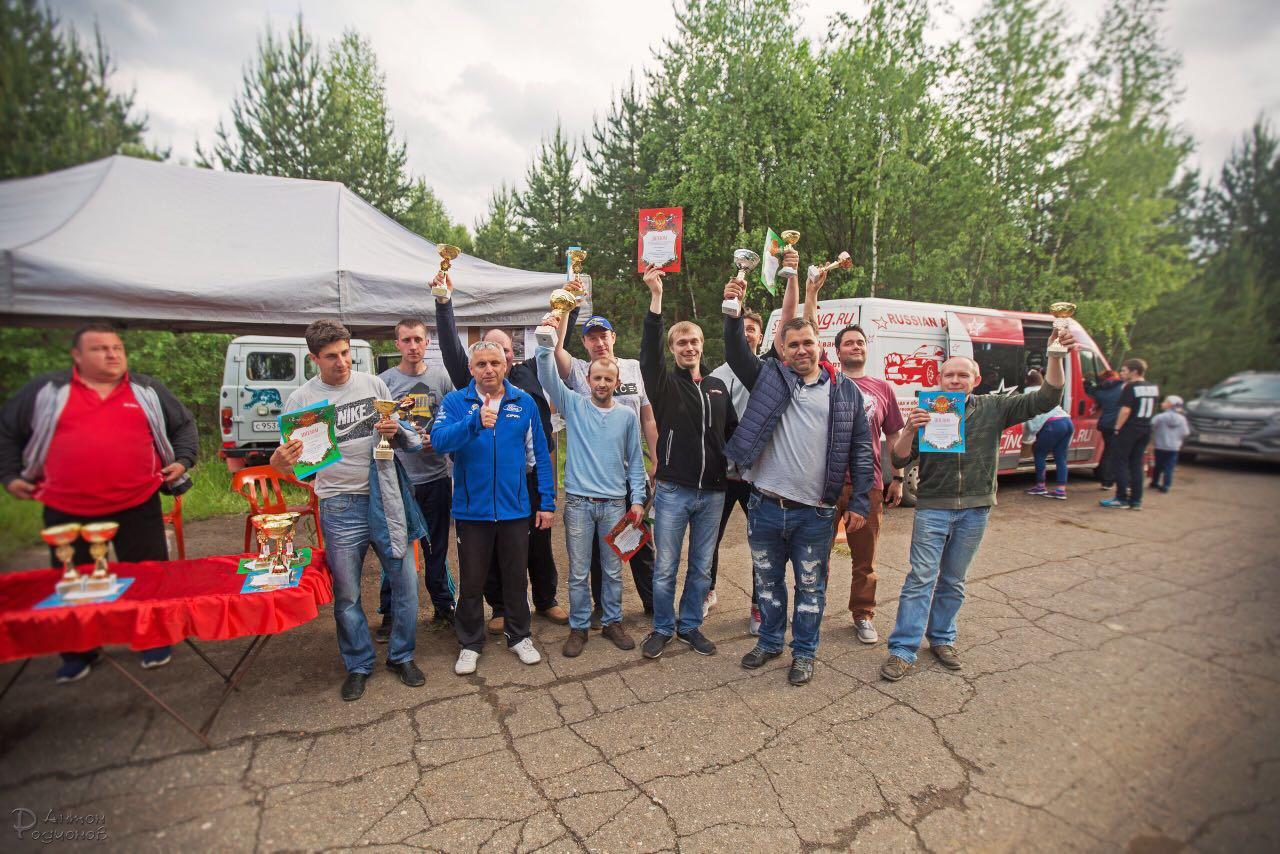 Абсолютная победа на ралли Петровская верста 2017 ЛЕТО