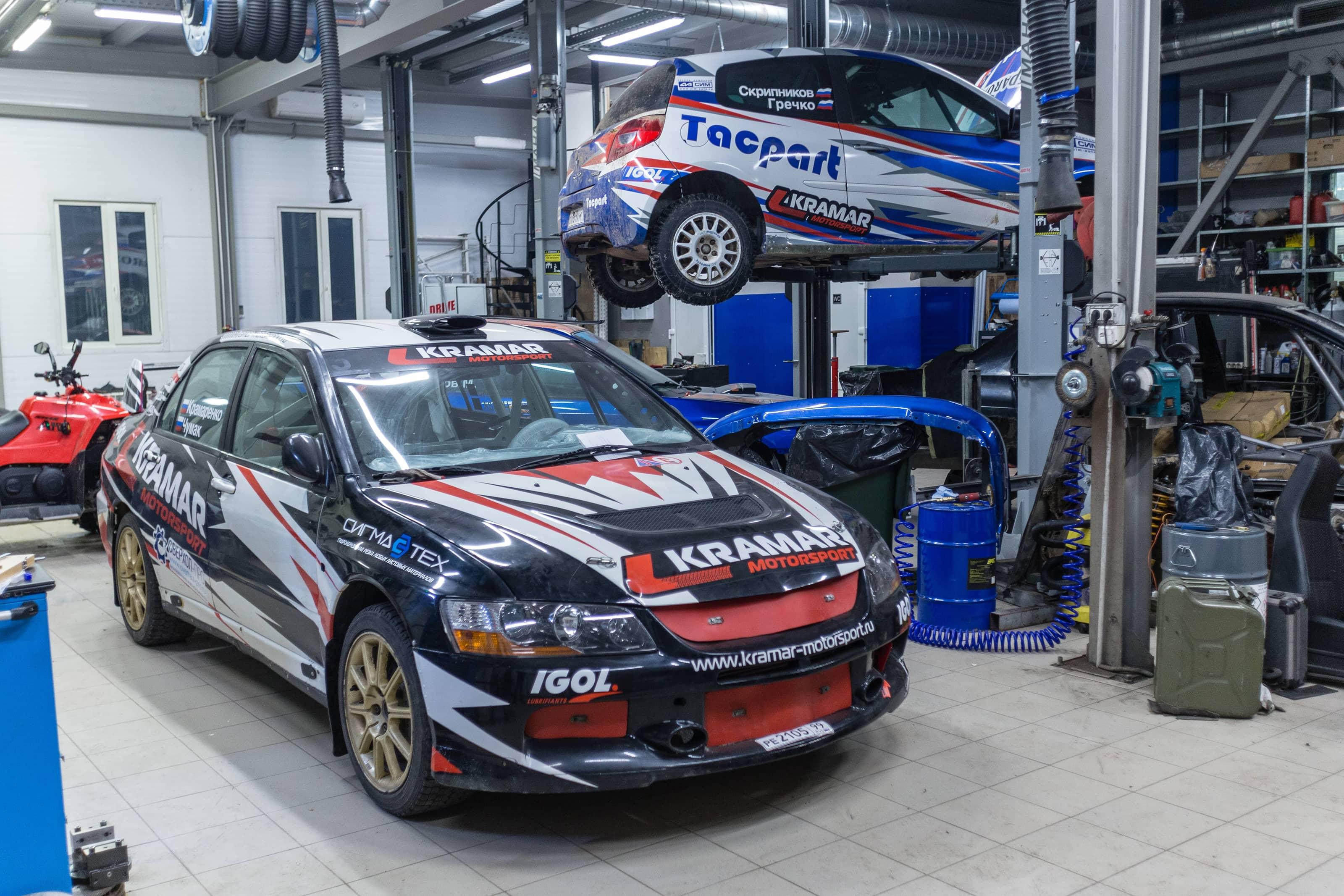 Спортивная команда Kramar Motorsport оказывает услуги в автоспорте