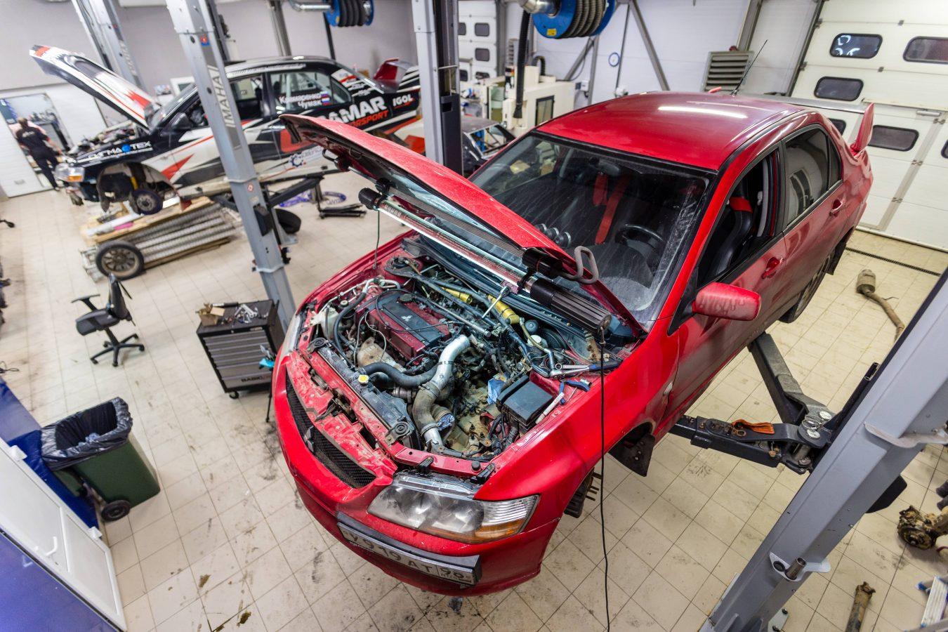 Другие виды работ с автомобилями SUBARU